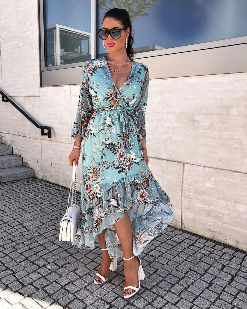 RINA BLUE DRESS