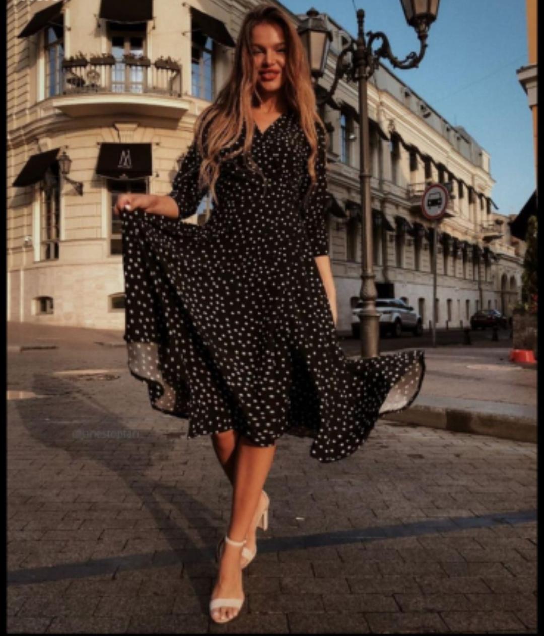 KELLY BLACK DRESS