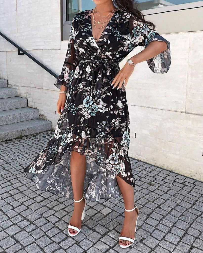 RINA BLACK DRESS