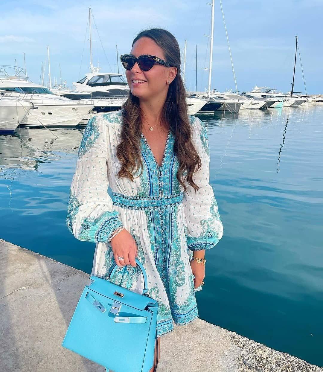 ELISSA BLUE DRESS