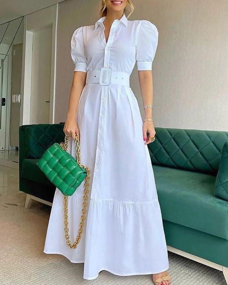 MADDISON WHITE DRESS