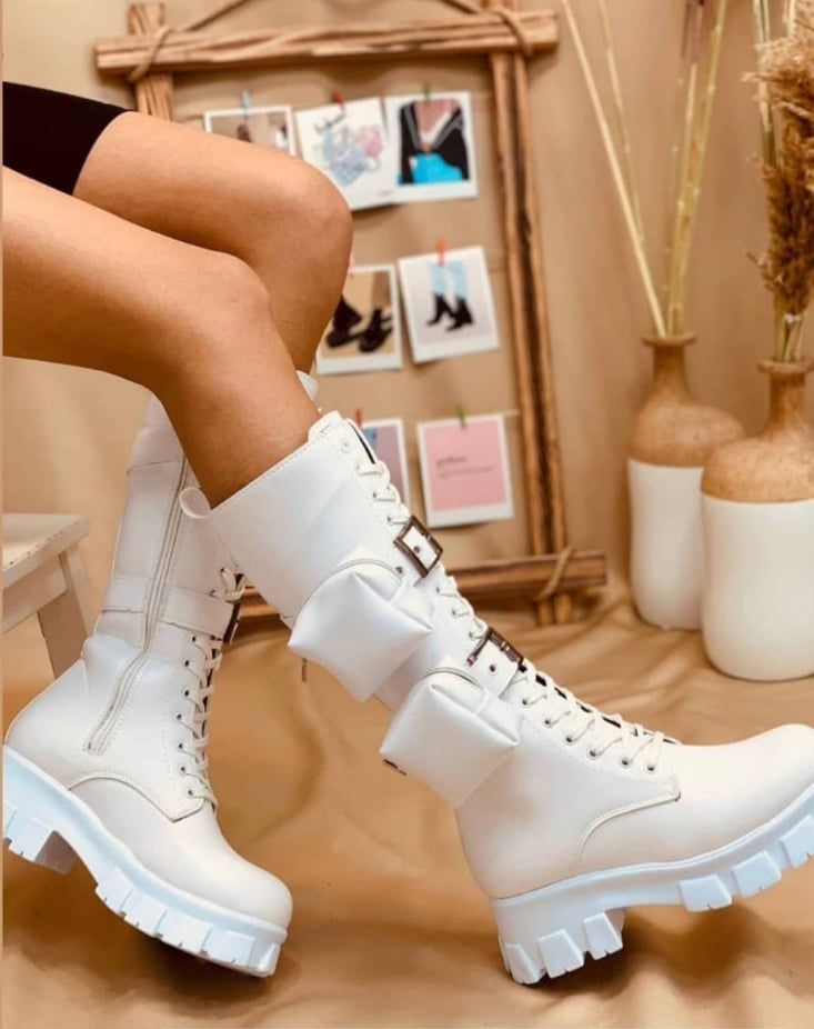 BOTTES RANGERS BLANCHES
